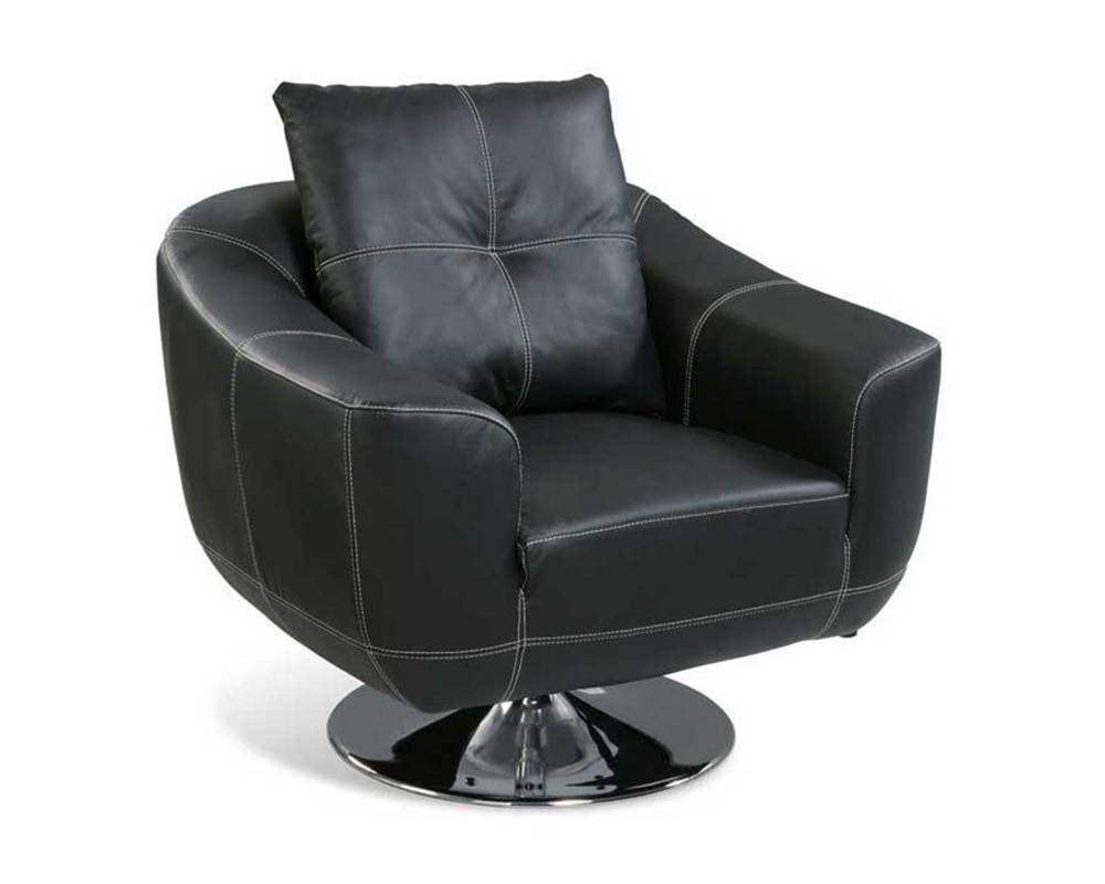 Black Swivel Office Chair