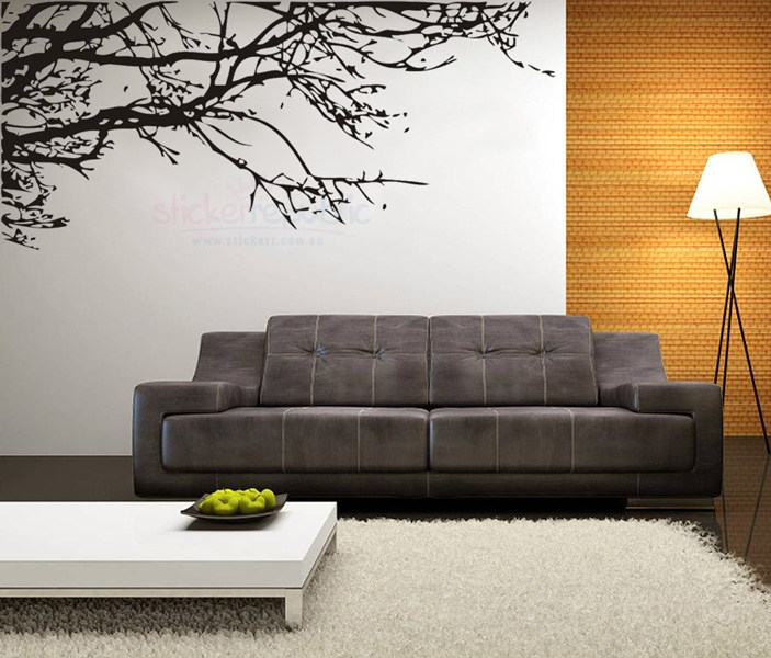 Black Tree Branch Wall Decal