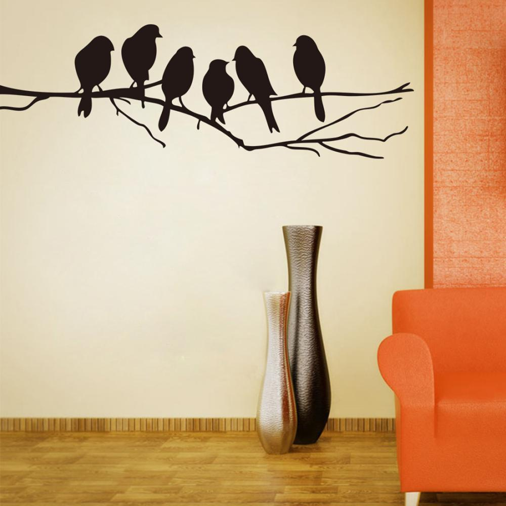 Black Tree Decals For Walls