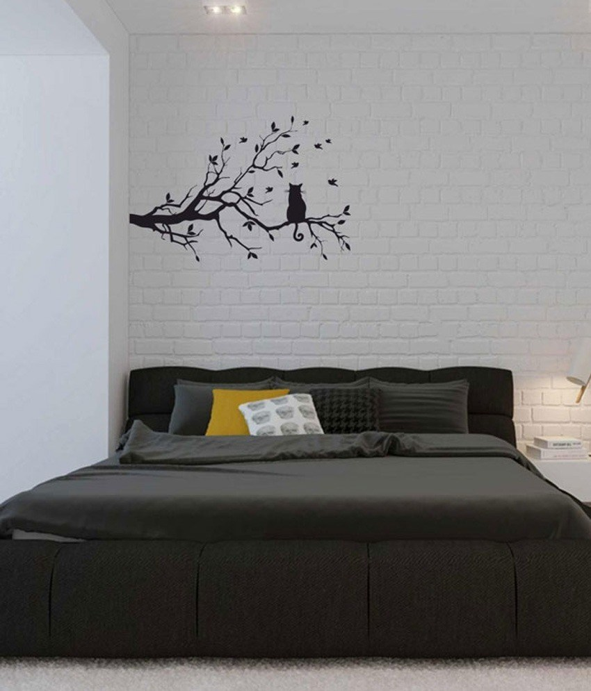 Black Tree Silhouette Wall Decal