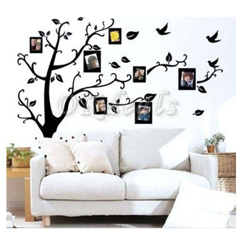 Black Tree Vinyl Wall Decal
