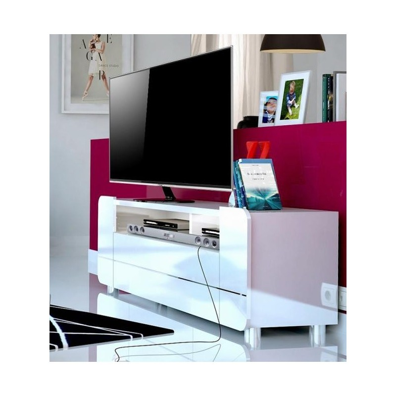 Black Tv Stand With Led Lights