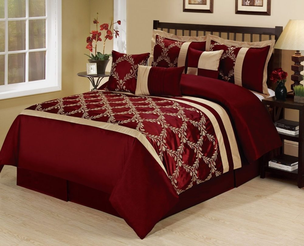Black White And Red Comforter Sets