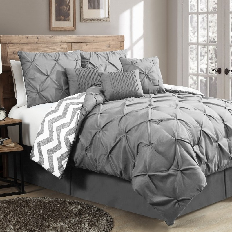 Blue And Grey Comforter Sets