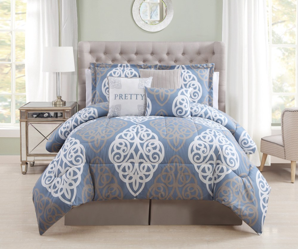 Blue Comforter Sets King