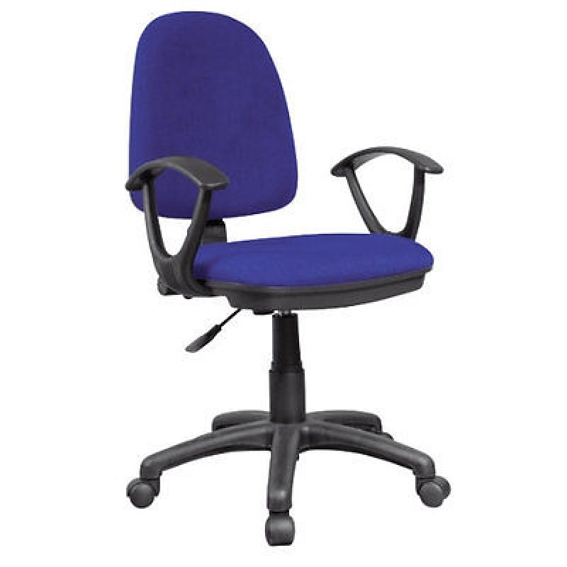 Blue Office Chairs With Arms