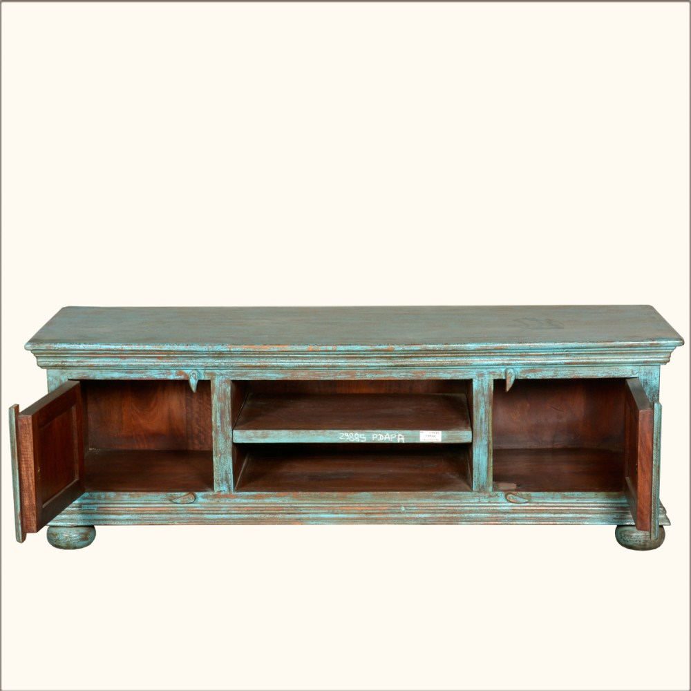 Blue Tv Stand Wood