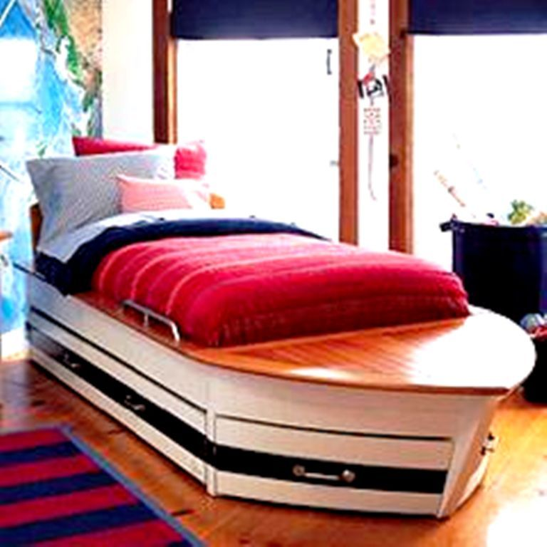 Boat Bed For Kids