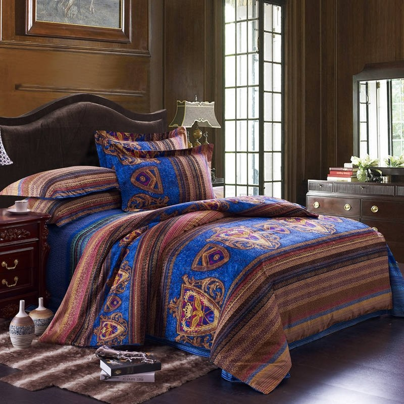 Bohemian Style Comforter Sets