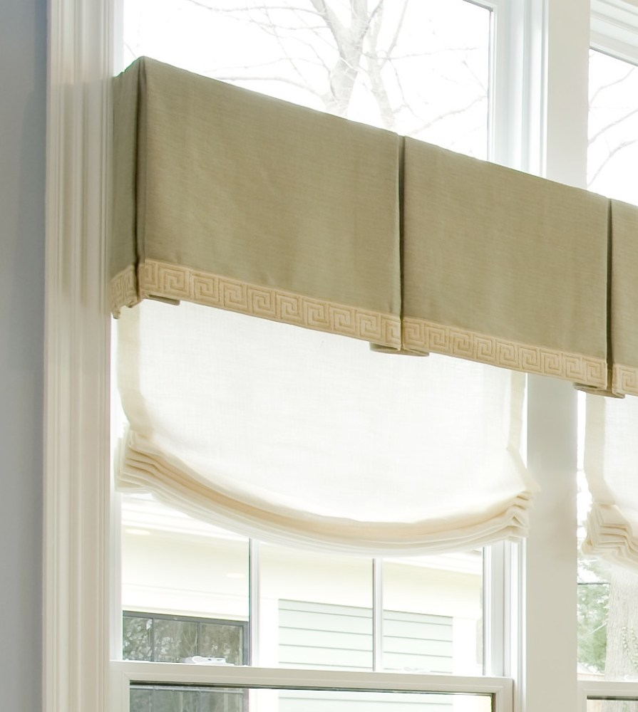Box Pleat Window Valance