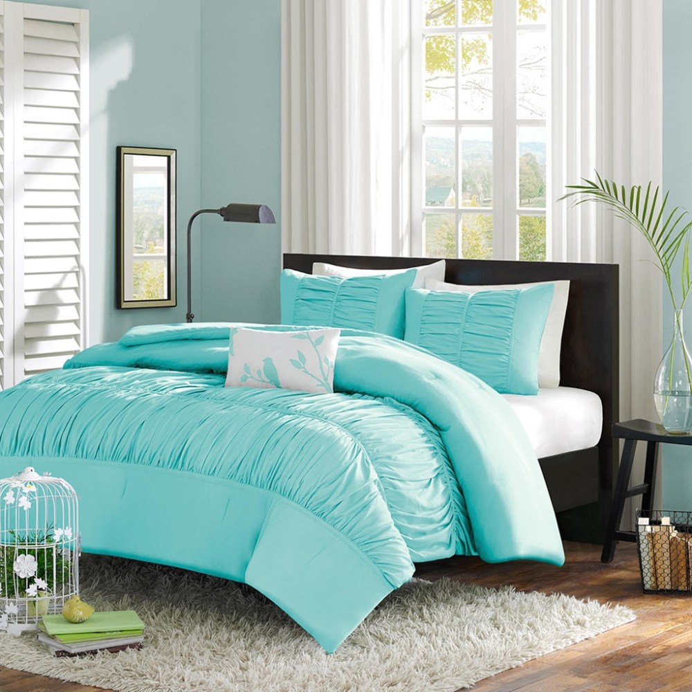 Bright Blue Comforter Set