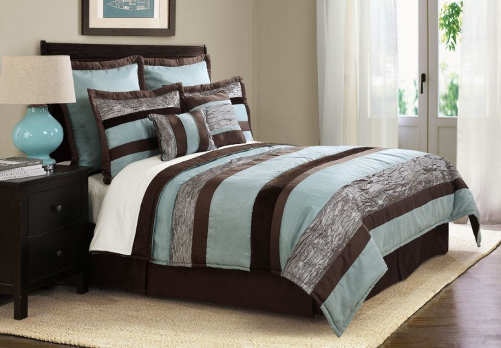 Brown Queen Comforter Sets