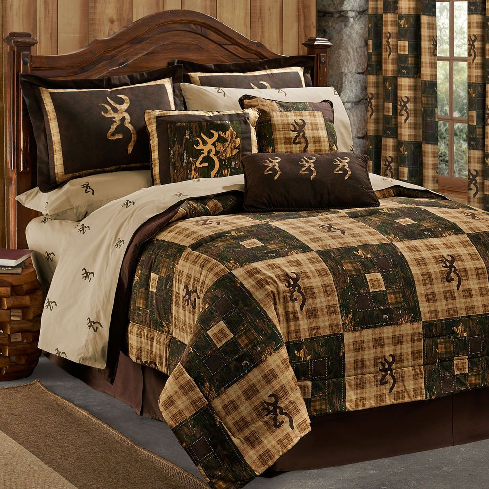 Browning Twin Comforter Set