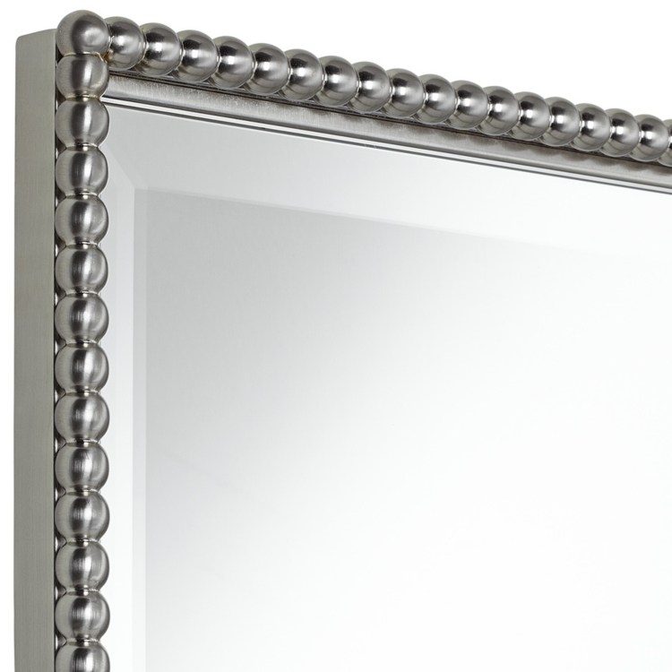 Brushed Nickel Wall Mirror Bathroom