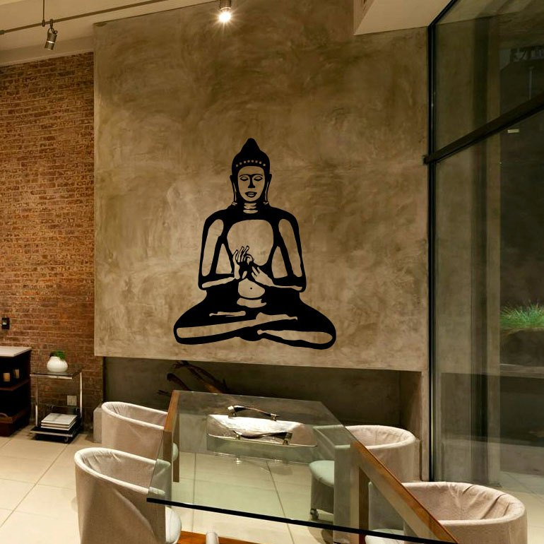 Buddha Wall Decal Sticker