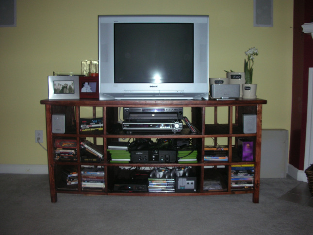 Build Tv Stand Out Wood