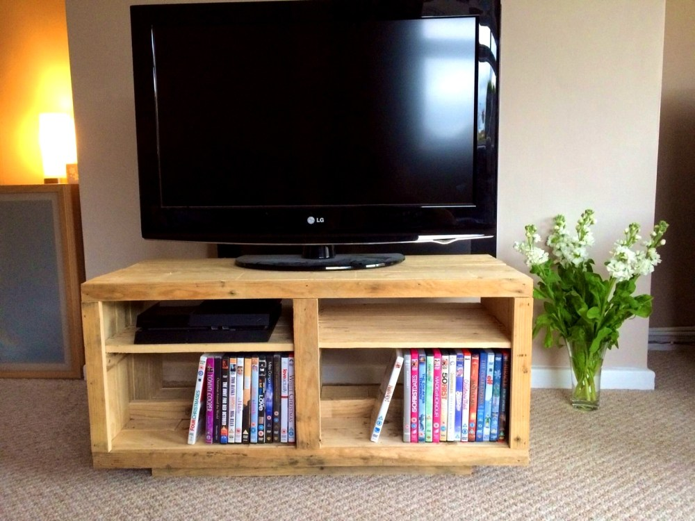 Building A Tv Stand Wood