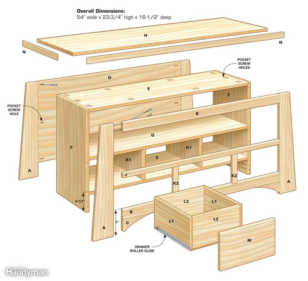 Building Plans For Tv Stand