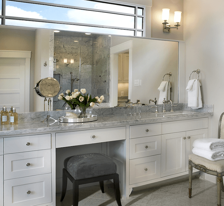 Built In Bathroom Cabinets Vanities