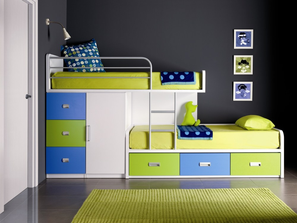 Bunk Bed Designs For Kids Room