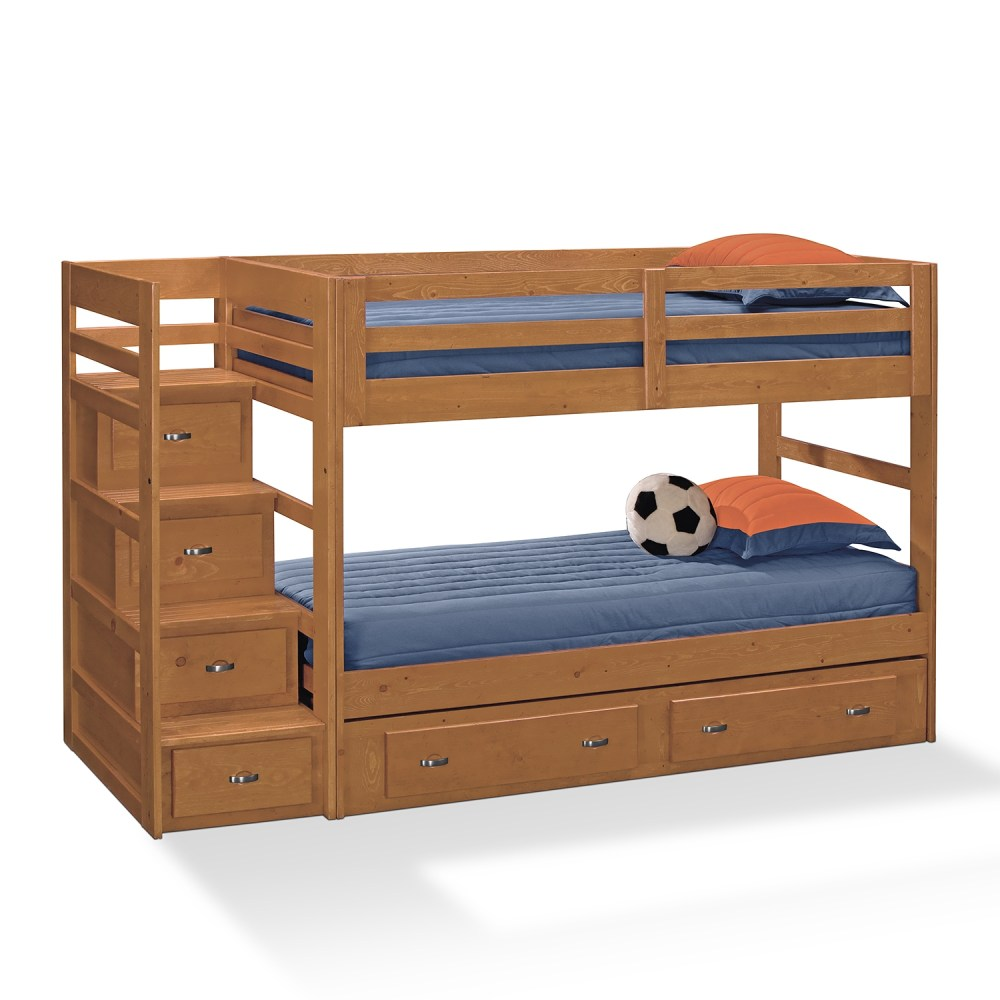 Bunk Beds For Kids With Stairs And Desk