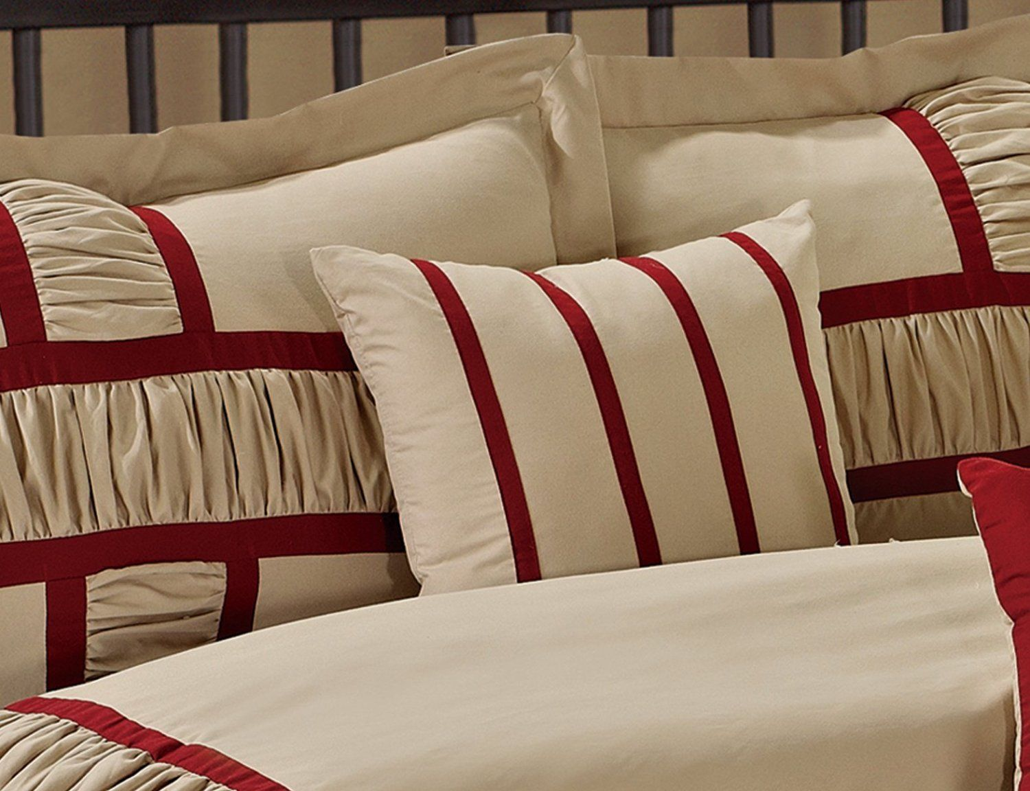 Burgundy Comforter Sets Queen