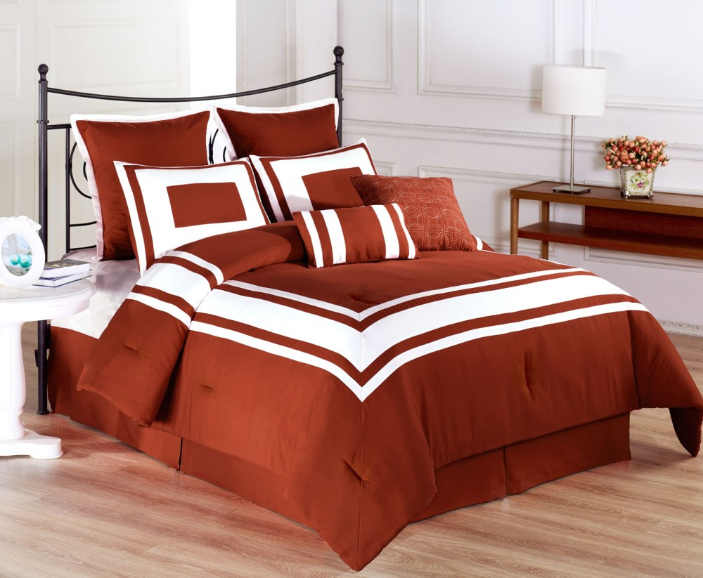Burnt Orange Comforter Set