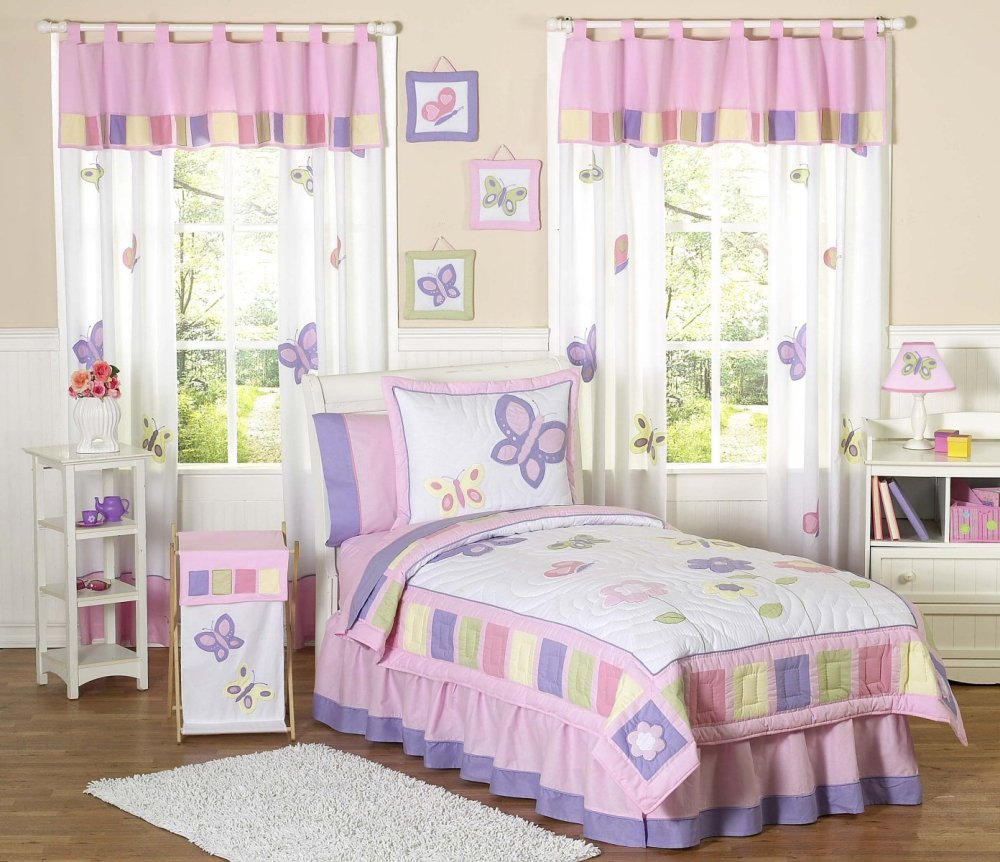 Butterfly Bedding For Kids