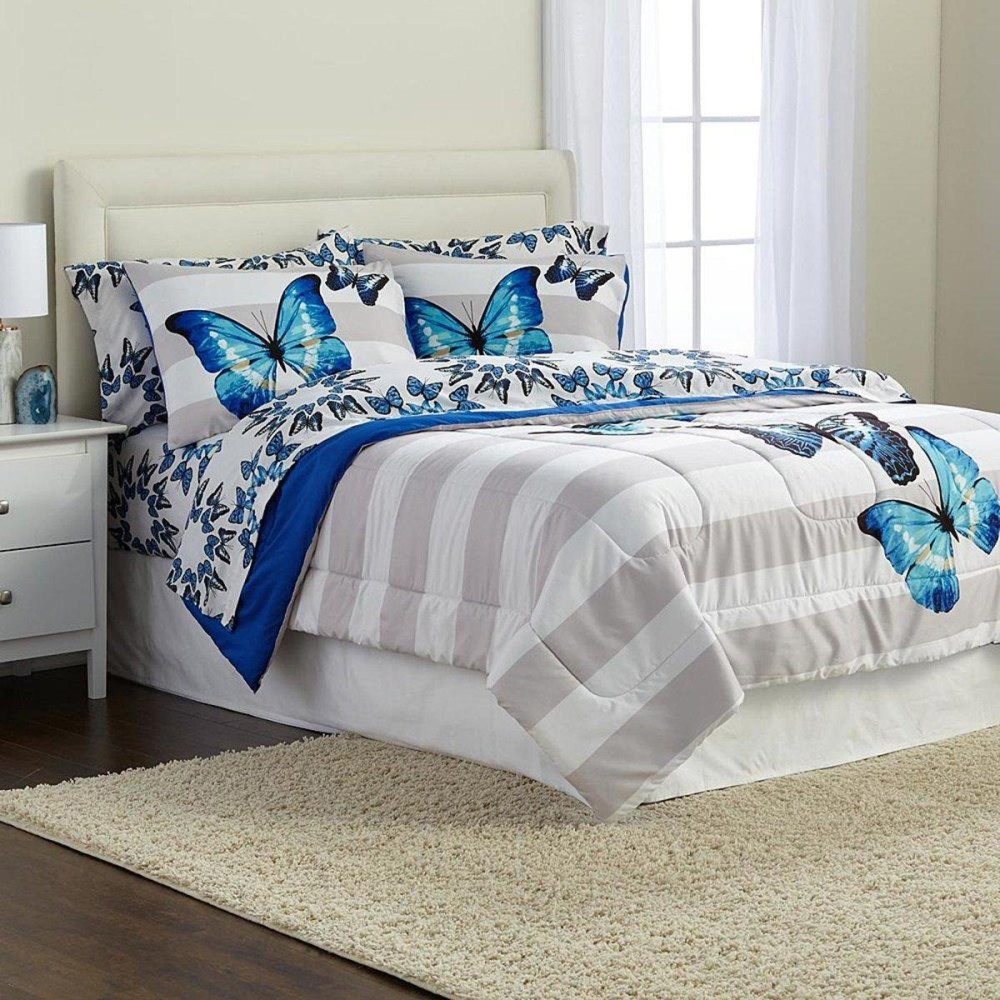 Butterfly Comforter Set Full Size