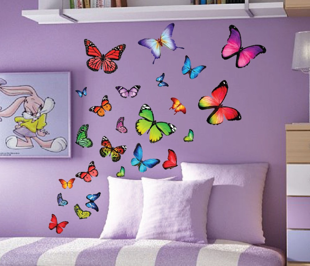 Butterfly Wall Decal Ideas