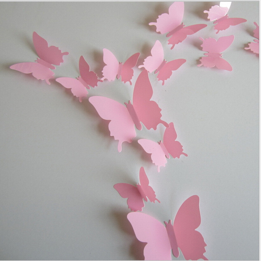 Butterfly Wall Decals 3d
