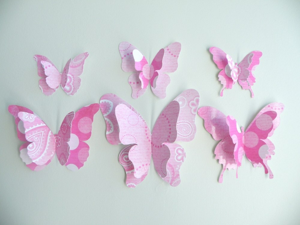 Butterfly Wall Decals For Nursery