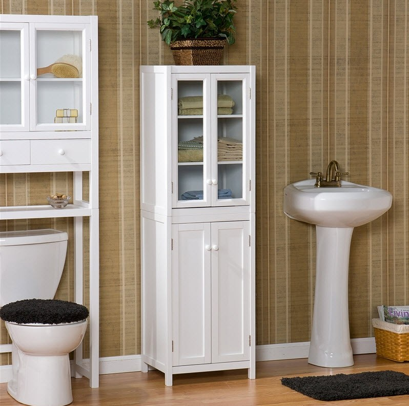 Cabinet For Bathroom Storage