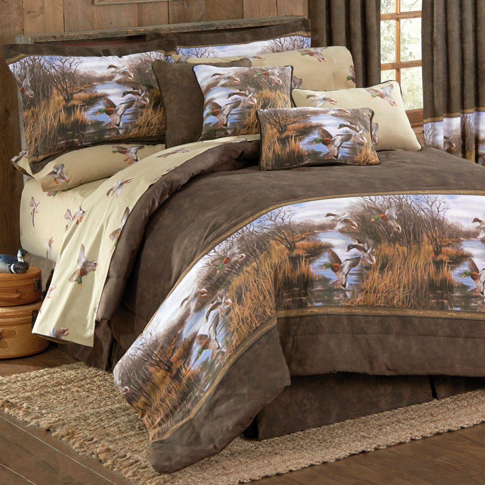 Camo King Size Comforter Set