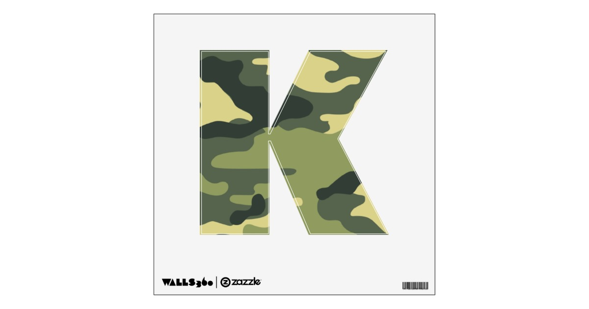 Camouflage Wall Decals