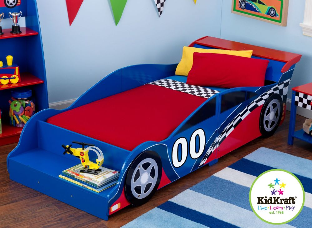 Car Kids Bed