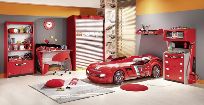 Car Kids Bedroom Furniture