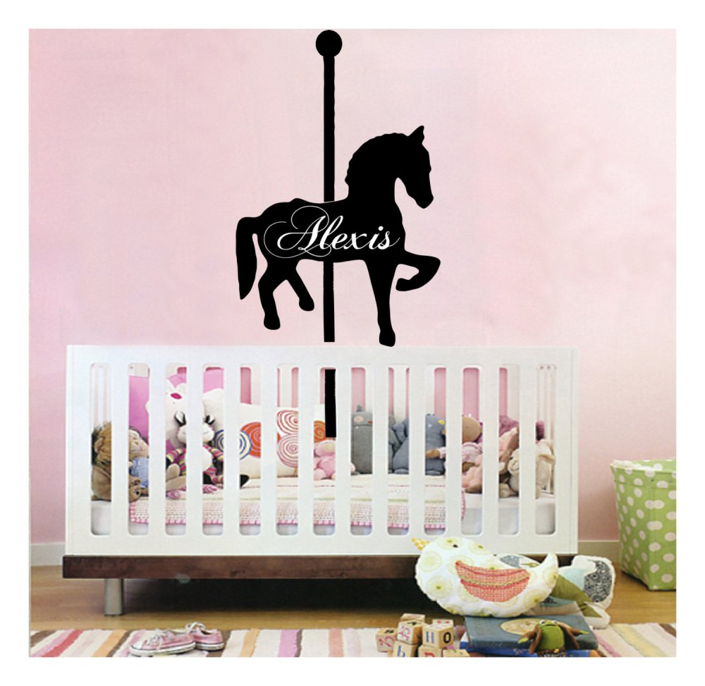 Carousel Horse Wall Decal
