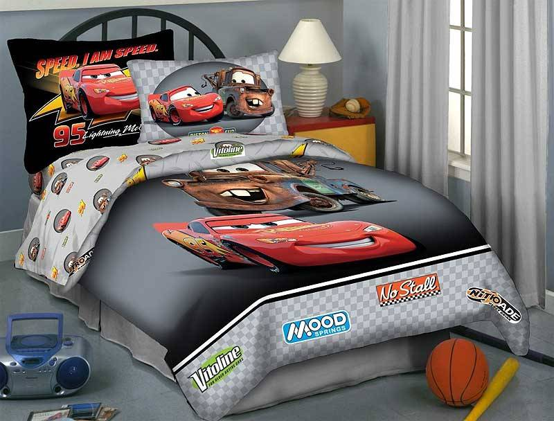 Cars Comforter Set Full