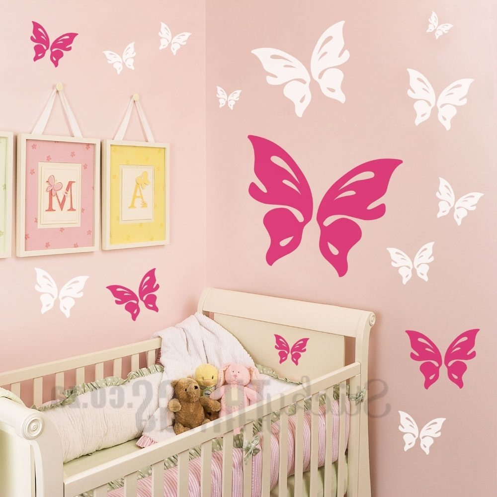Castle Wall Decals Large
