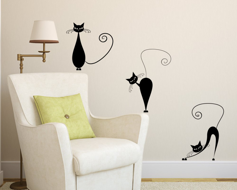 Cat Wall Decals Canada