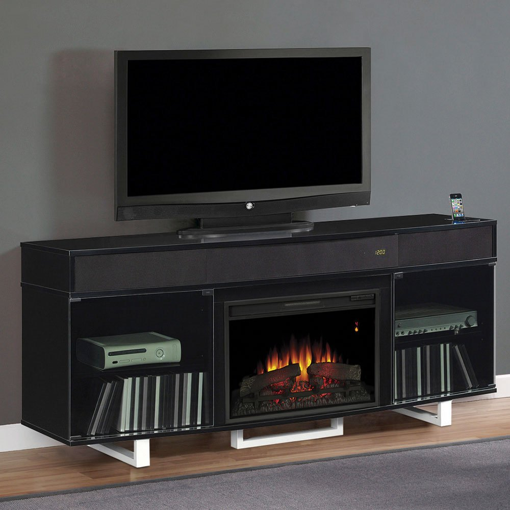 Cheap Tv Stand With Fireplace