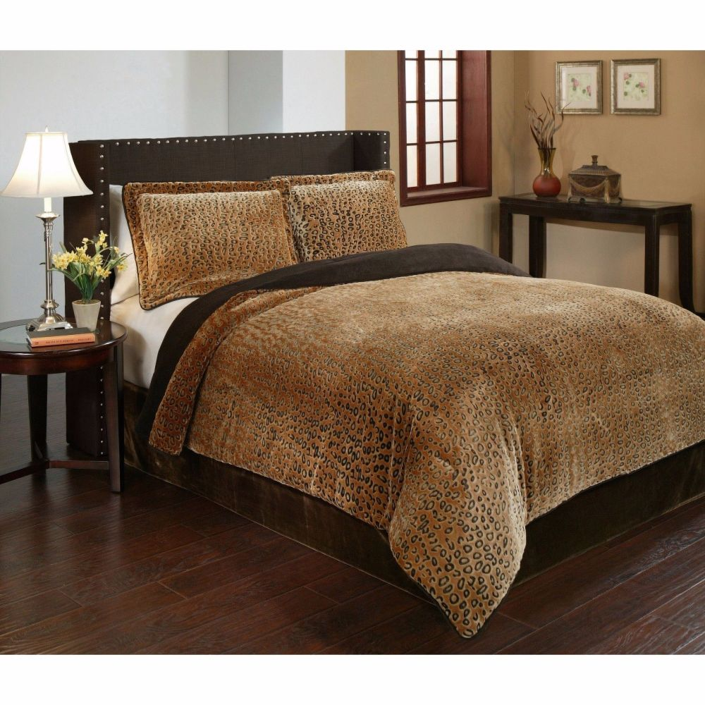 Cheetah Print Comforter Set