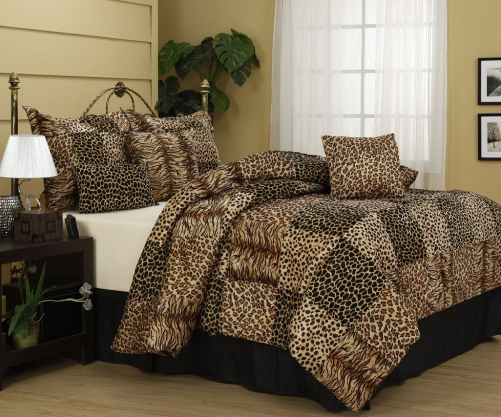 Cheetah Print Comforter Sets