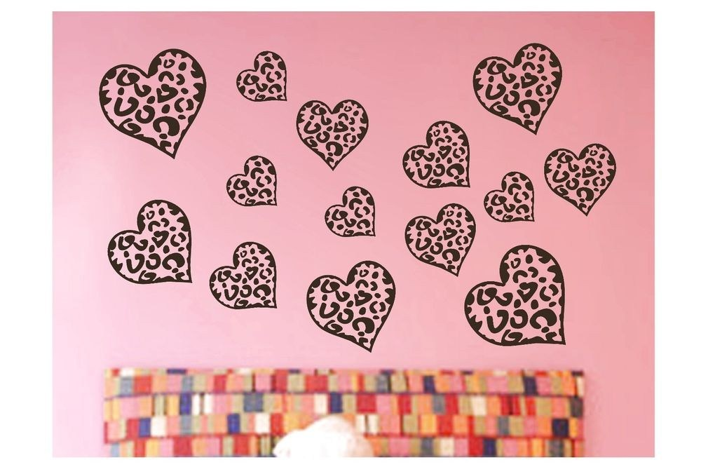 Cheetah Print Wall Decals Stickers