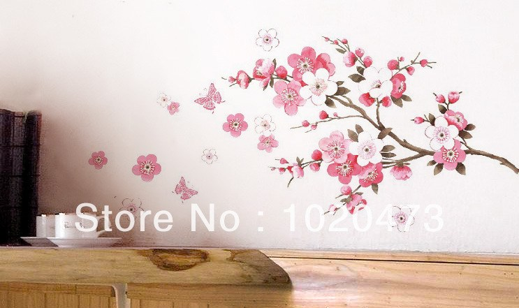 Cherry Blossom Wall Art Decals