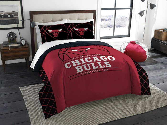 Chicago Bulls Comforter Set Queen