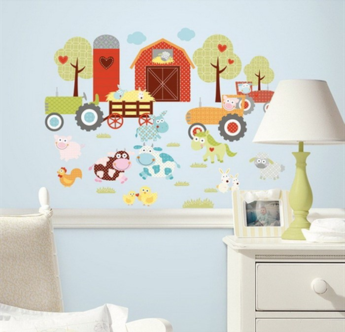 Childrens Flower Wall Decals