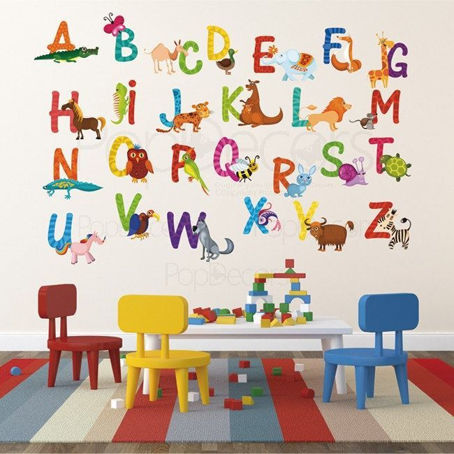 Children's Playroom Wall Decals