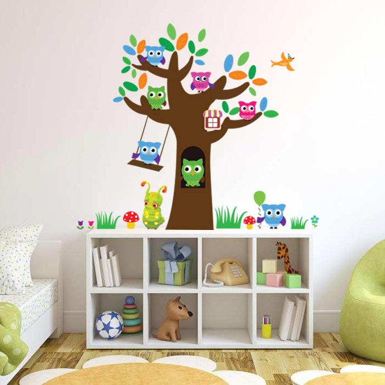 Children's Room Tree Wall Decals